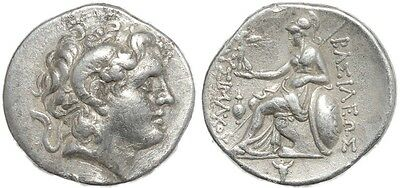 Ancient coin of Lysimachus AR silver tetradrachm - King of Thrace