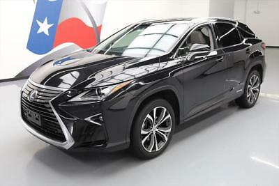 2016 Lexus RX  2016 LEXUS RX450H AWD HYBRID SUNROOF NAV VENT SEATS 40K #003649 Texas Direct