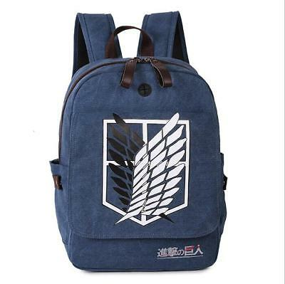 Neu Shingeki no Kyojin Attack on Titan Rucksack Tasche Back Bag Anime 43x33x17CM
