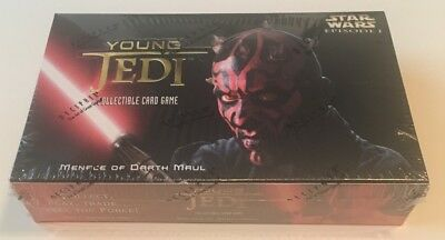 Star Wars Young Jedi Menace of Darth Maul Booster Box CCG 30 packs