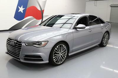 2016 Audi A6  2016 AUDI A6 2.0T QUATTRO PREM PLUS AWD SUNROOF NAV 24K #007031 Texas Direct