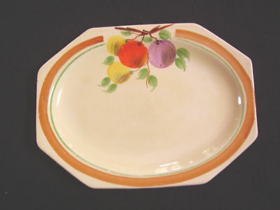 A J Wilkinson Hand Painted Dish In Pomona Pattern 1932