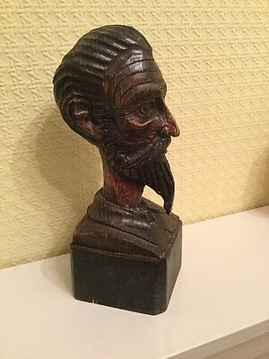 Ouro Wood Carving Of A Head No. 567