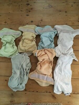 Close Pop In Reusable Nappies 5 With Booster & 4 Bamboo Inserts