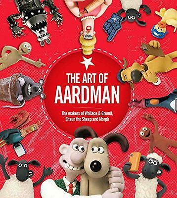 The Art of Aardman by Animations, Aardman  Hardcover Book - 9781471161285  NEW