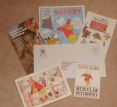 Small Selection Of Rupert Bear Papers