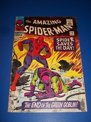 Amazing Spider-man #40 Silver Age Romita Green Goblin revealed Wow
