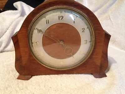 Vintage Art Deco Style, Mantel Clock, Smiths.
