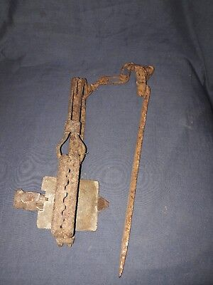 Antique/Vintage Metal Animal/Rat Trap. Display Piece.