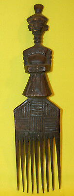 Antique Wooden African Comb