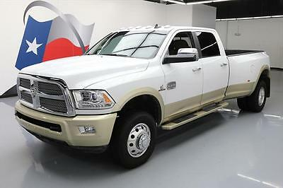 2016 Dodge Ram 3500 Limited Crew Cab Pickup 4-Door 2016 DODGE RAM 3500 LONGHORN 4X4 DIESEL DUALLY NAV 15K #272961 Texas Direct Auto