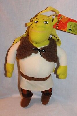 New With Tag Shrek Plush Backpack 17""
