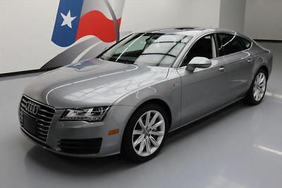 2014 Audi A7  2014 AUDI A7 3.0T QUATTRO PREM PLUS AWD SUNROOF NAV 26K #065688 Texas Direct