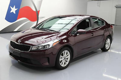 2017 Kia Forte  2017 KIA FORTE LX POPULAR PKG REAR CAM ALLOY WHEELS 24K #007846 Texas Direct