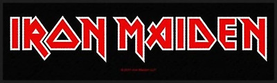 Iron Maiden - Logo Strip Patch
