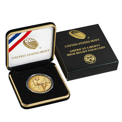 2015-W US Gold $100 American Liberty High Relief Coin