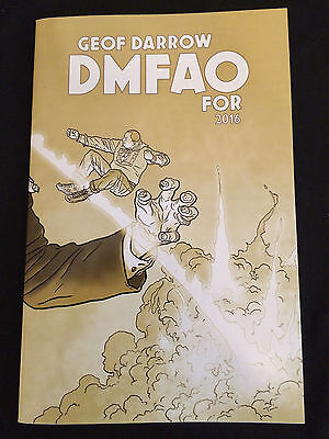 DMFAO FOR 2016 Geof Darrow Sketchbook