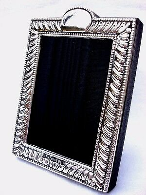 Classic Finest Quality 999 Hallmarked Silver London & Britannia Photograph Frame