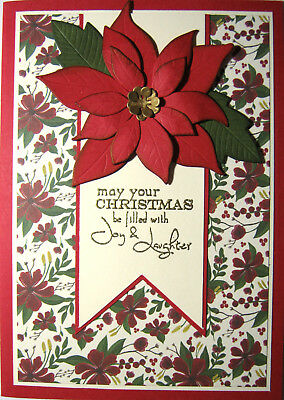 Handmade Card - May your Christmas Be FIlled With Joy and Laughter