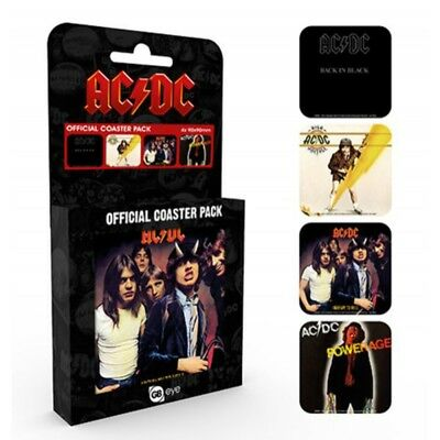 AC/DC - ACDC Coaster Pack (4 90cm x 90cm Coasters)