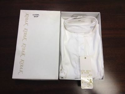 SALE KYRA.K LADIES RIDING COMPETITION SHIRT WHITE SHORT SLEEVE equestrian rider