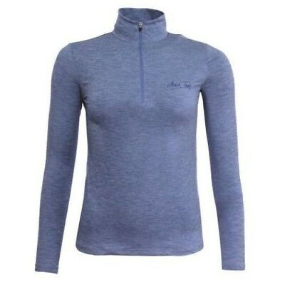 MARK TODD CINDY SECOND SKIN BLUE long sleeve soft jersey machine washable