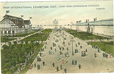Irland, Irish Internation Exhibition 1907, Donnybrook Entrance