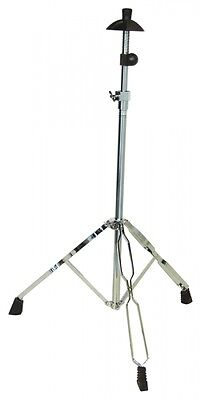 DIMAVERY Stand for Trombone, Trombone stand, Color chrome