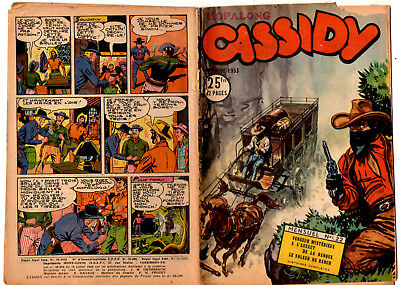 SUPER BOY PRESENTE : HOPALONG CASSIDY n°22 ¤ 1953 IMPERIA
