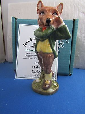 A Round With Foxy Golf Sc65 Limited Edition Beswick Sporting Characters Fox