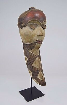 A Vintage Pende African mask on displaystand~ African Tribal Art
