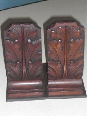 Antique Reclaimed Wooden Bookends