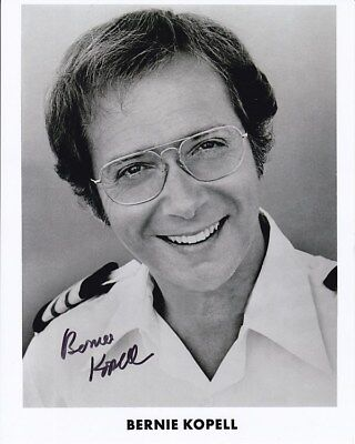 BERNIE KOPELL signed autographed THE LOVE BOAT DR. ADAM DOC BRICKER photo