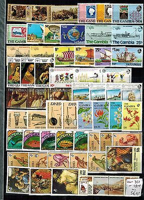 GAMBIA aus 387 - 1811 **