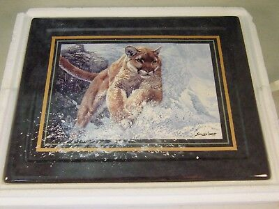 Vanishing Treasures Swift Pursuit Fourth In A Series Bradford Exchange Plate Le