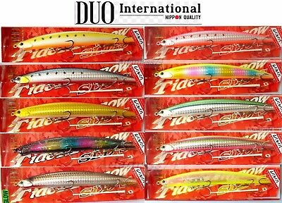 DUO Tide Minnow 145SLD-S Japan Saltwater Sinking Fishing Lure,Hard Bait,Sea Bass