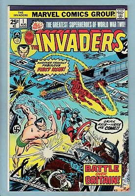 Invaders # 1 Vfn+ (8.5)  Bright & Glossy High Grade - 1975 - Cents - First Issue
