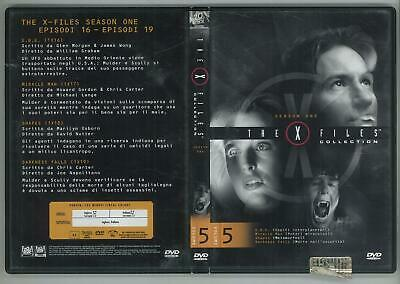 The X Files Collection Stagione 1 Volume 5 Dvd Editoriale Ottimo Usato