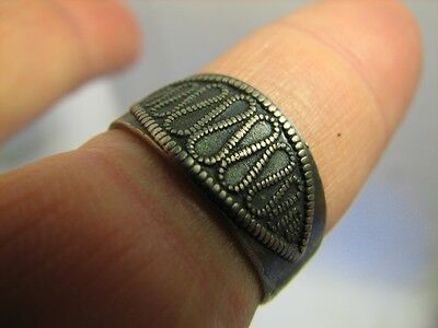Author's Work! Vintage Sterling Silver Ring #6491