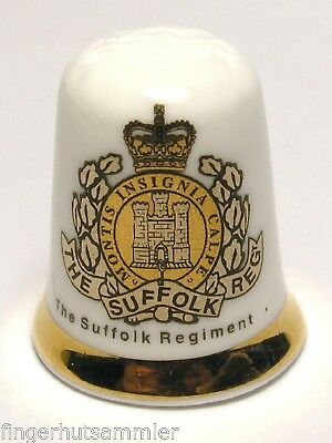 Fingerhut Thimble - The Suffolk Regiment