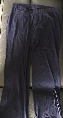 Bump In The Night Navy Blue Pj Pajama Pants Medium