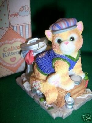 Calico Kittens FEEL-INE FINE IN THE CITY NIB 543500 LE ** FREE USA SHIPPING