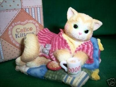 Calico Kittens CREATURE COMFORTS Dtd 2000 # 720755 NIB ** FREE USA SHIPPNG