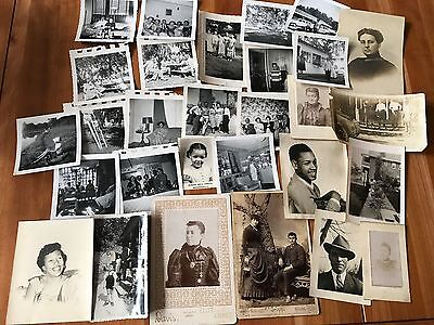Group of 29 African American ~ Black History ~ Old Photos & Snapshots