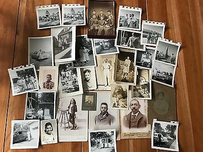 Group of 32 African American ~ Black History ~ Old Photos & Snapshots