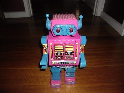 ROTO-MATIC  ROBOT VINTAGE  TOY TIN SPACE JOLO TAIWAN 70's 80's WORKS