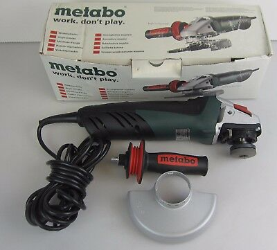 Metabo W11-125 Quick Corded Angle Grinder