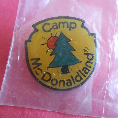 Camp McDonaldland McDonald's Lapel Pin NIP