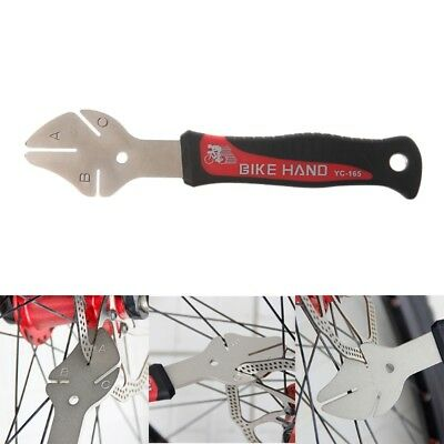 Bike Disc Rotor Flattening Repair Correction Tool Bicycle Brake Wrench Spanner