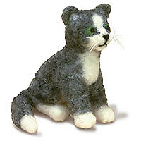 Dimensions D72-73799 | Cat Needle Felting Kit | Makes 1